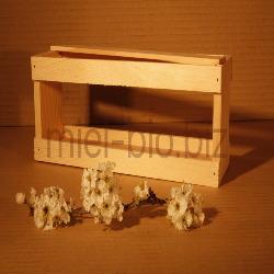 Coffret vide pour 4 pots de 125g de miel bio
