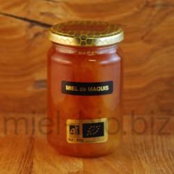 Miel de Maquis bio pot de 400g