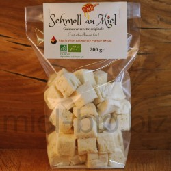 Schmoll au miel bio (guimauve artisanale) 200g