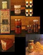 Produits de la ruche bio et local